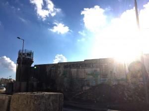 Kalandia Checkpoint, Westbank