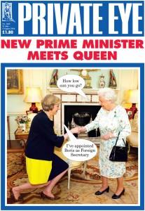 Auch in diesen harten Zeiten begleitet die Satire-Zeitung Private Eye Großbritannien mit beißendem Humor.