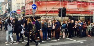 Schlange beim Parteitag in Brighton: Die Retro-Linke ist cool